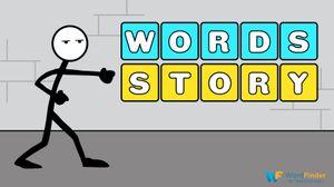 Words Story man