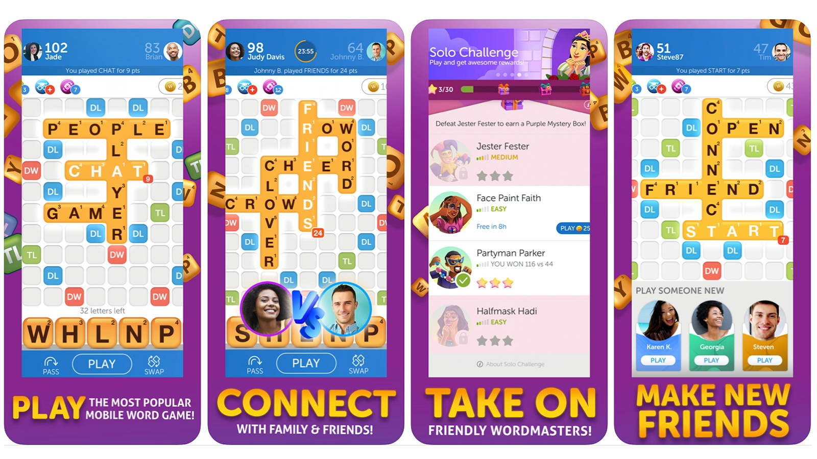 Words With Friends 2 game screenshot