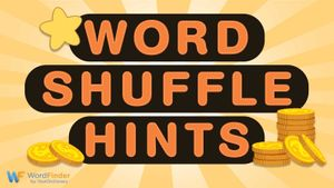 hints for word shuffle game