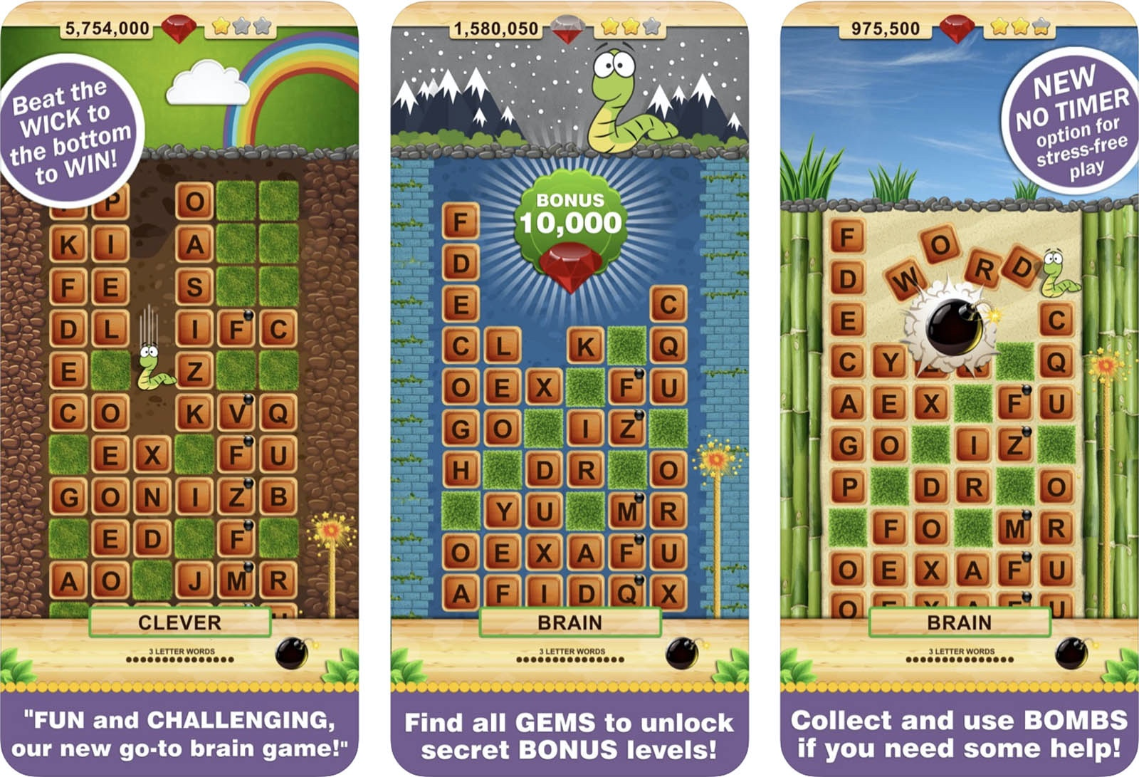 Screenshot of WordWow game