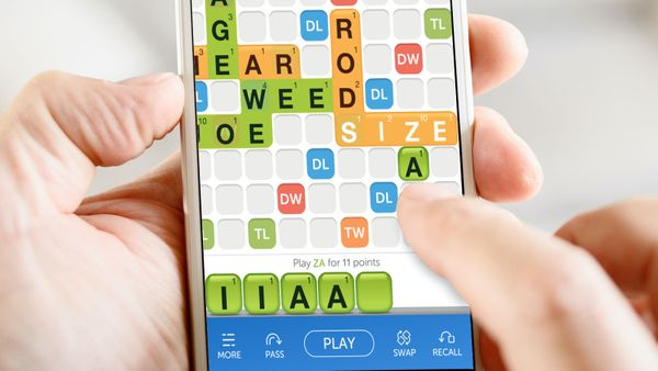 playing za as a word in words with friends