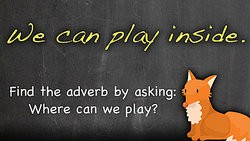 Adverb Lesson for Elementary