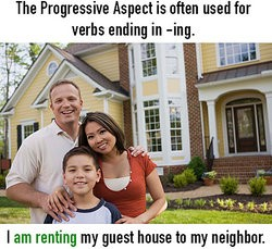 Family Renting Their House As Helping Verbs