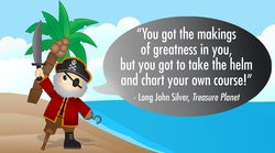 Motivational Pirate Quotes for Life, Love and Adventure