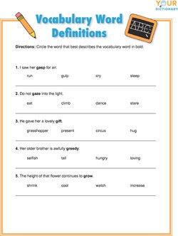 Words That Start With G For Kids