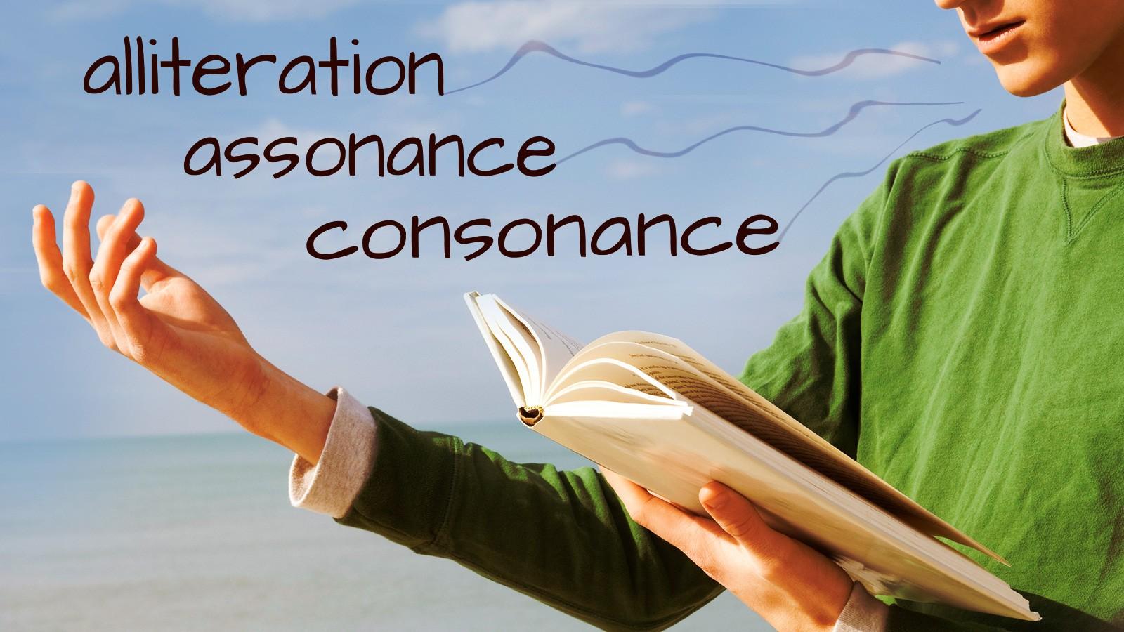 alliteration assonance consonance in poetry