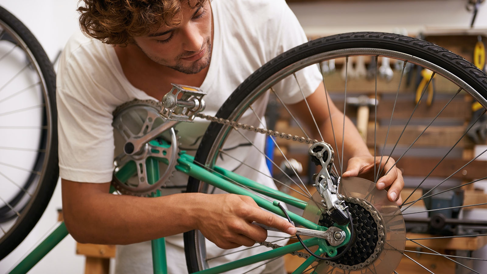 Wheel and Axle Simple Machine Example Bicycle Gear