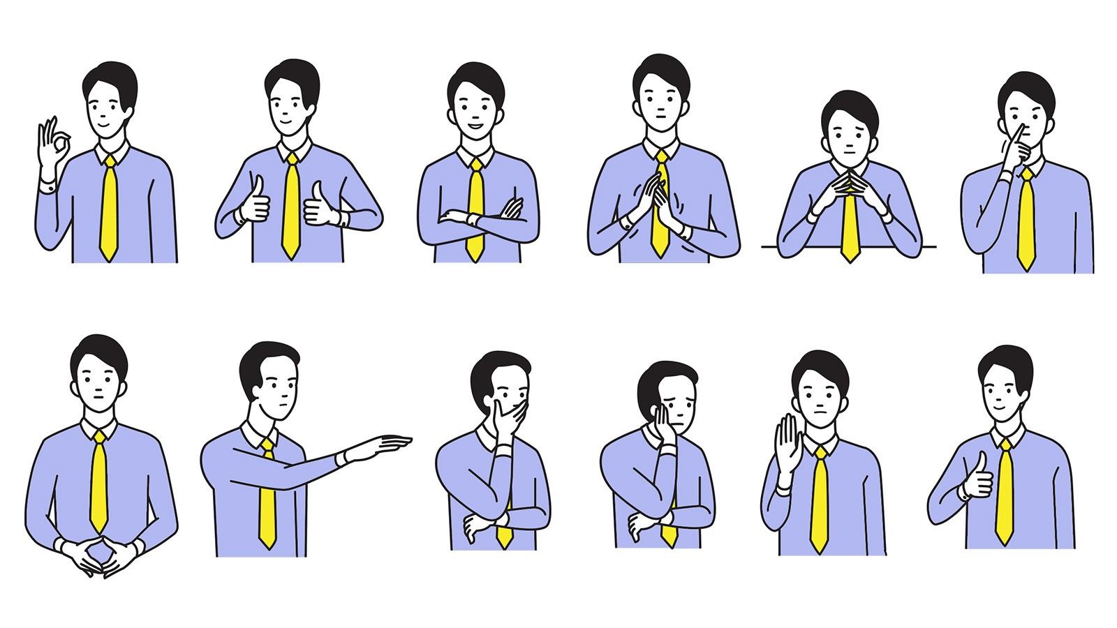Examples of Body Language