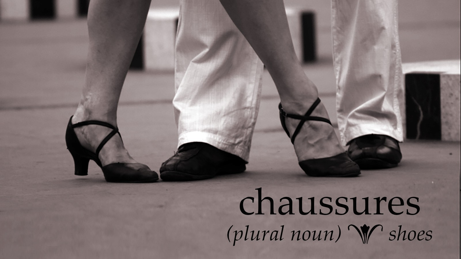 chaussures means shoes in french