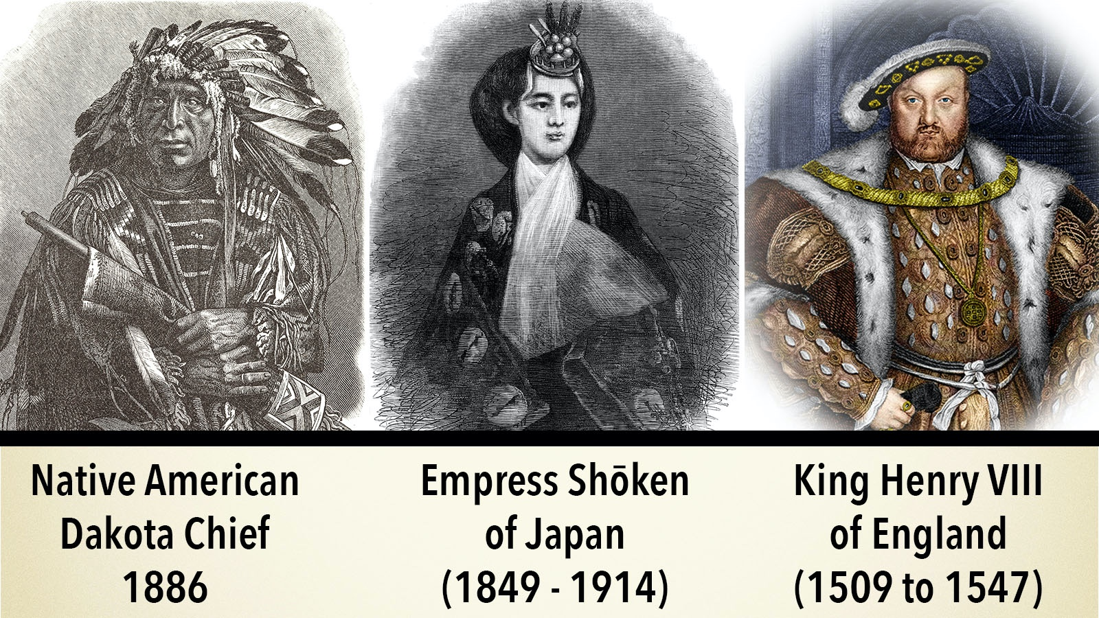 difference between chief, empress, king