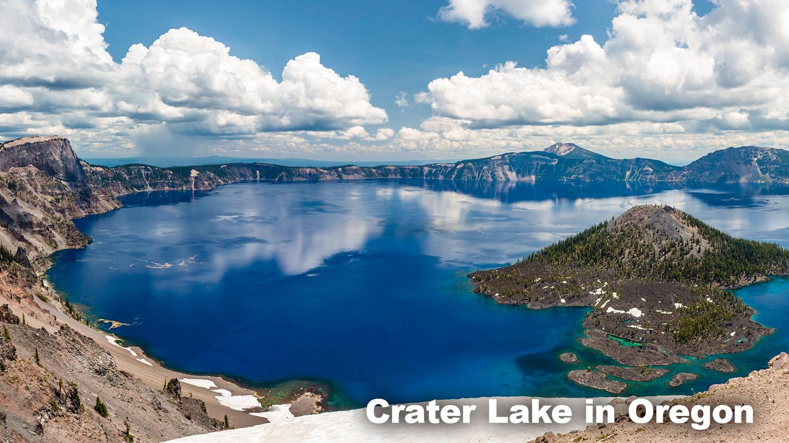 Freshwater Biome Crater Lake Oregon