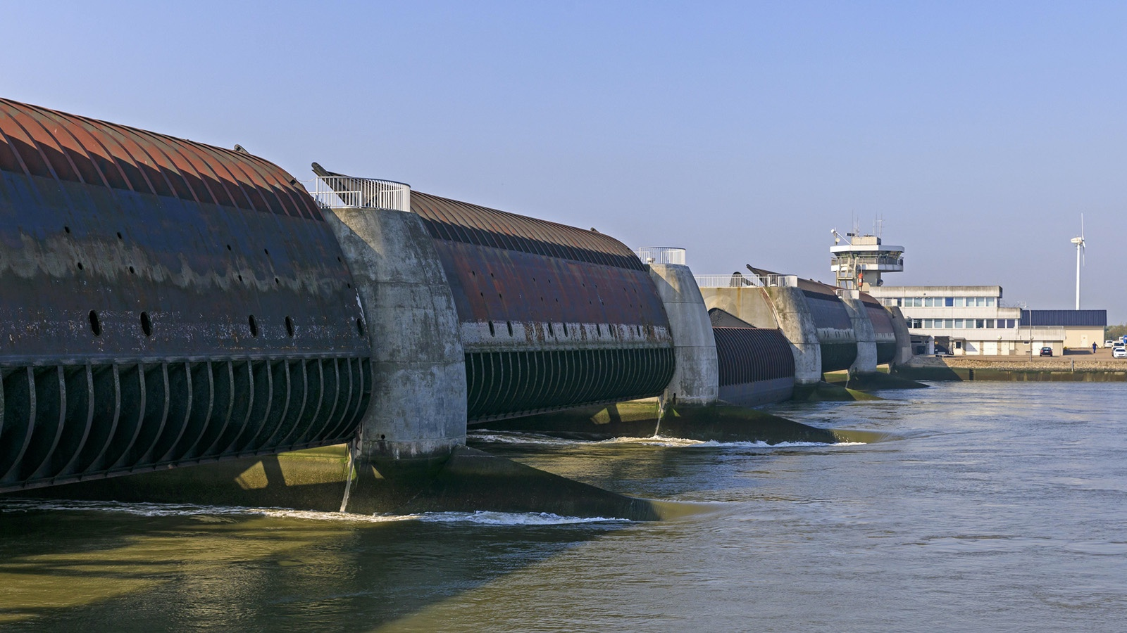 Renewable Ocean energy example Eider Barrage Germany