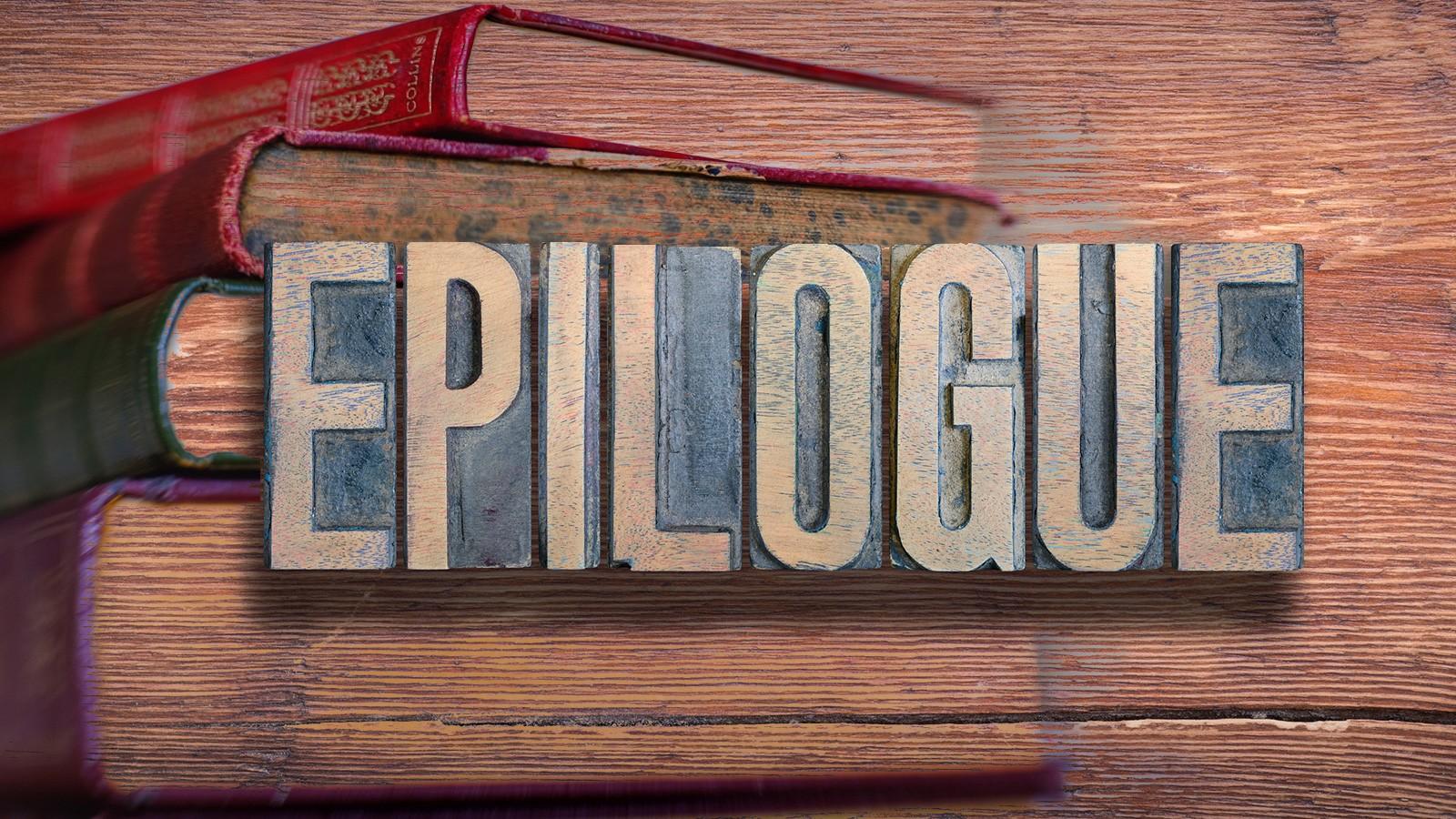 book epilogue