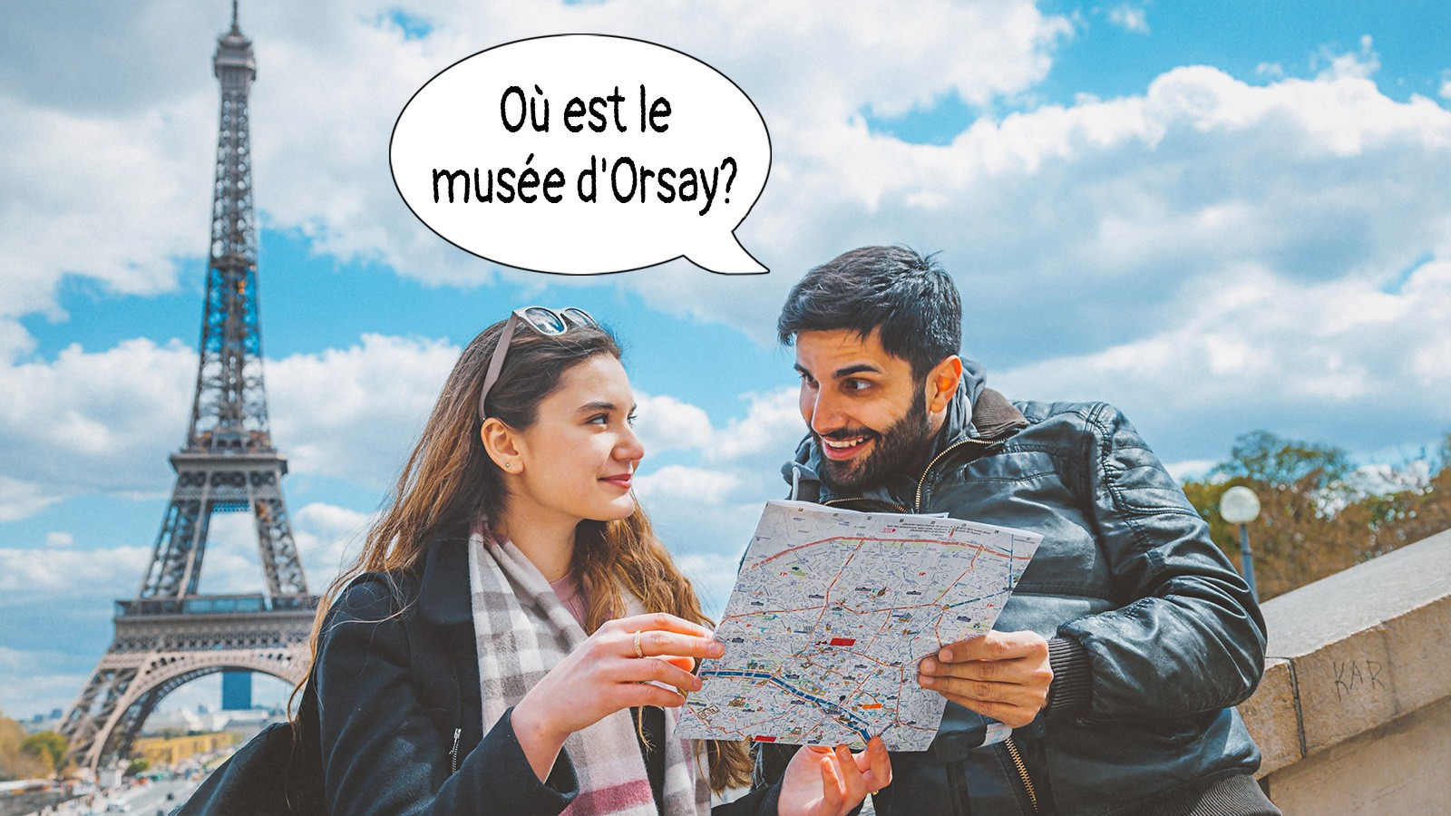 Basic french phrase using where is?