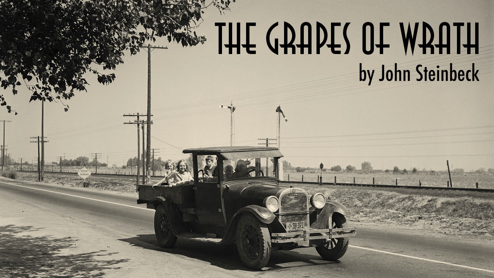 naturalism example the grapes of wrath