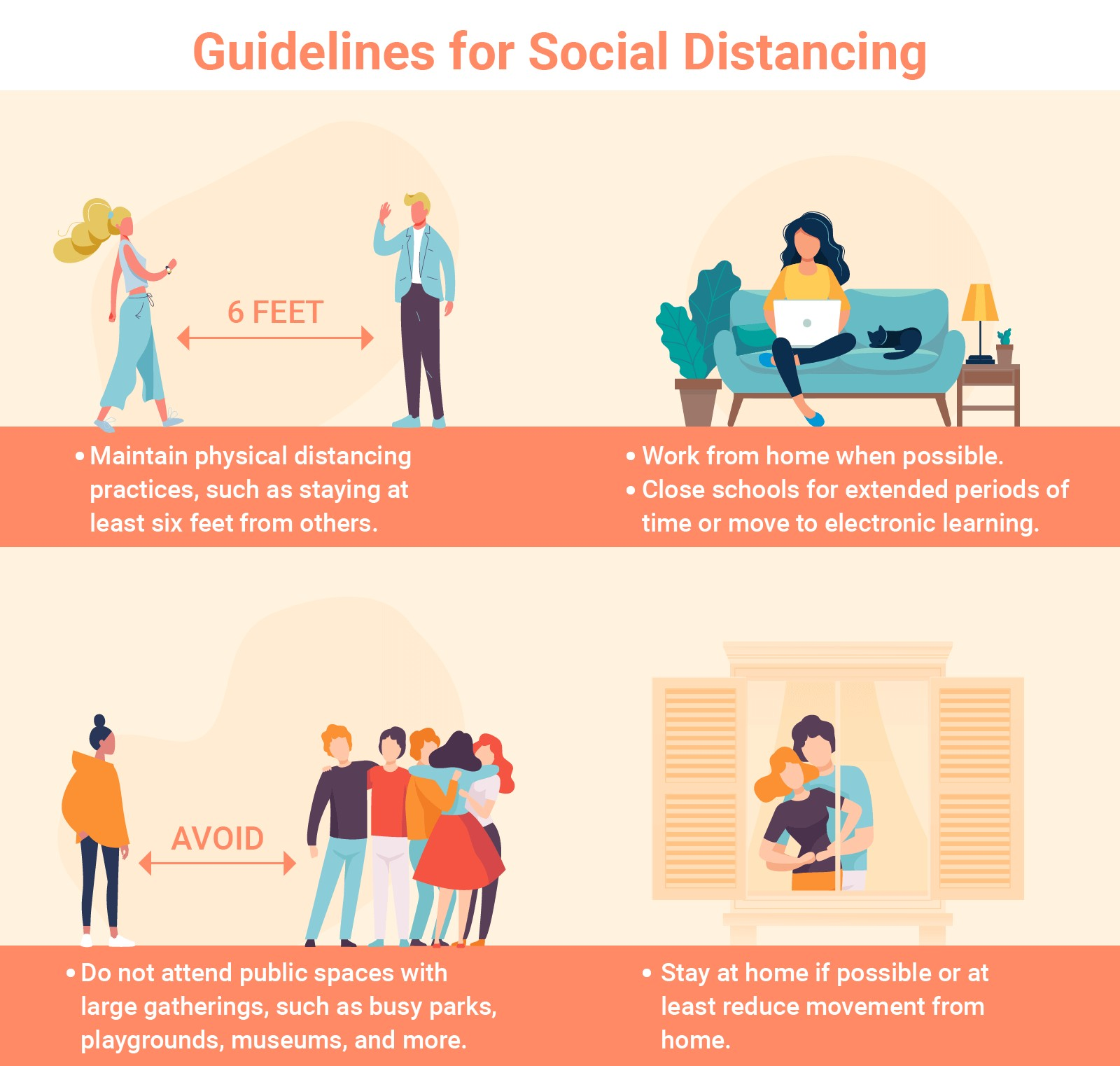 tips for social distancing