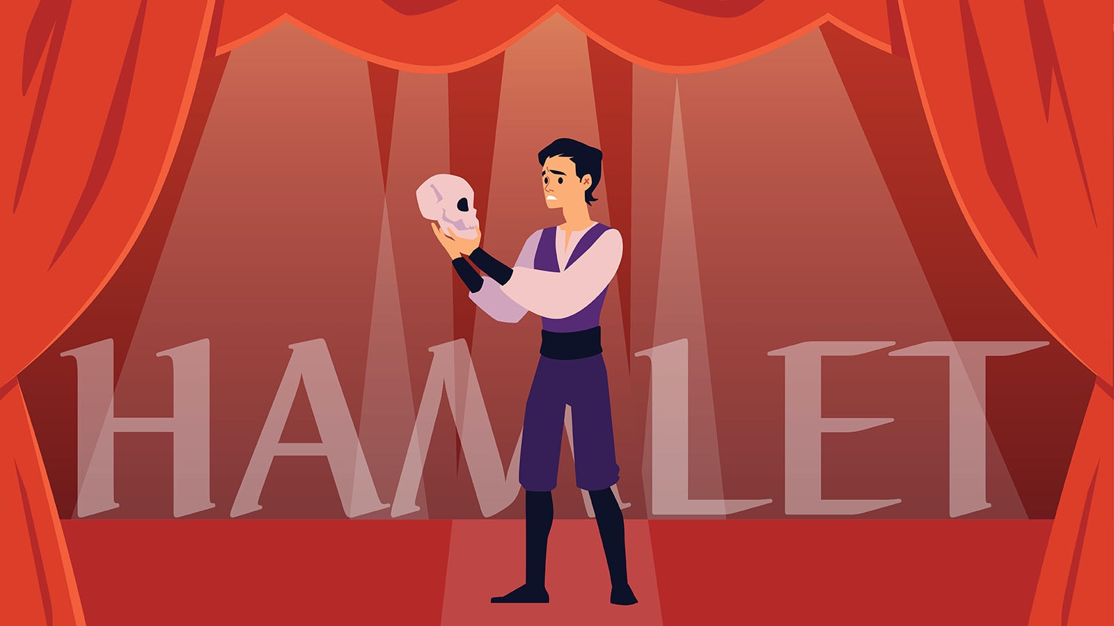 Hamlet drama in literature example