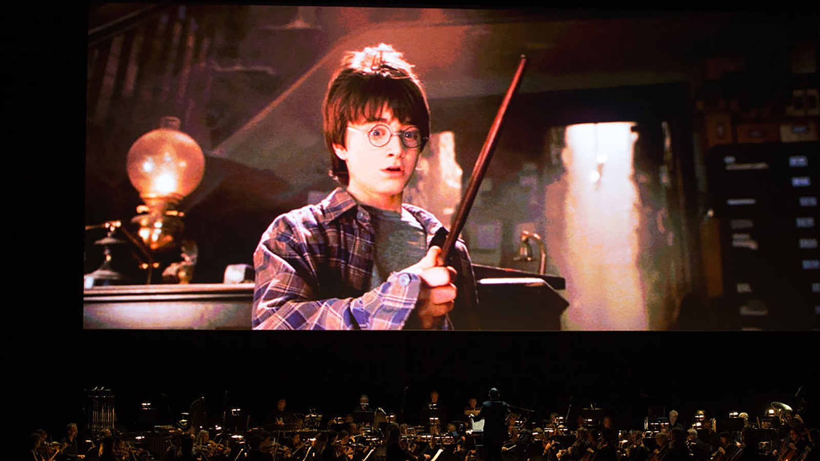 harry potter and sorcerer's stone concert