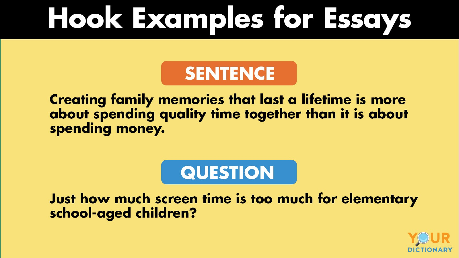 hook examples for essays