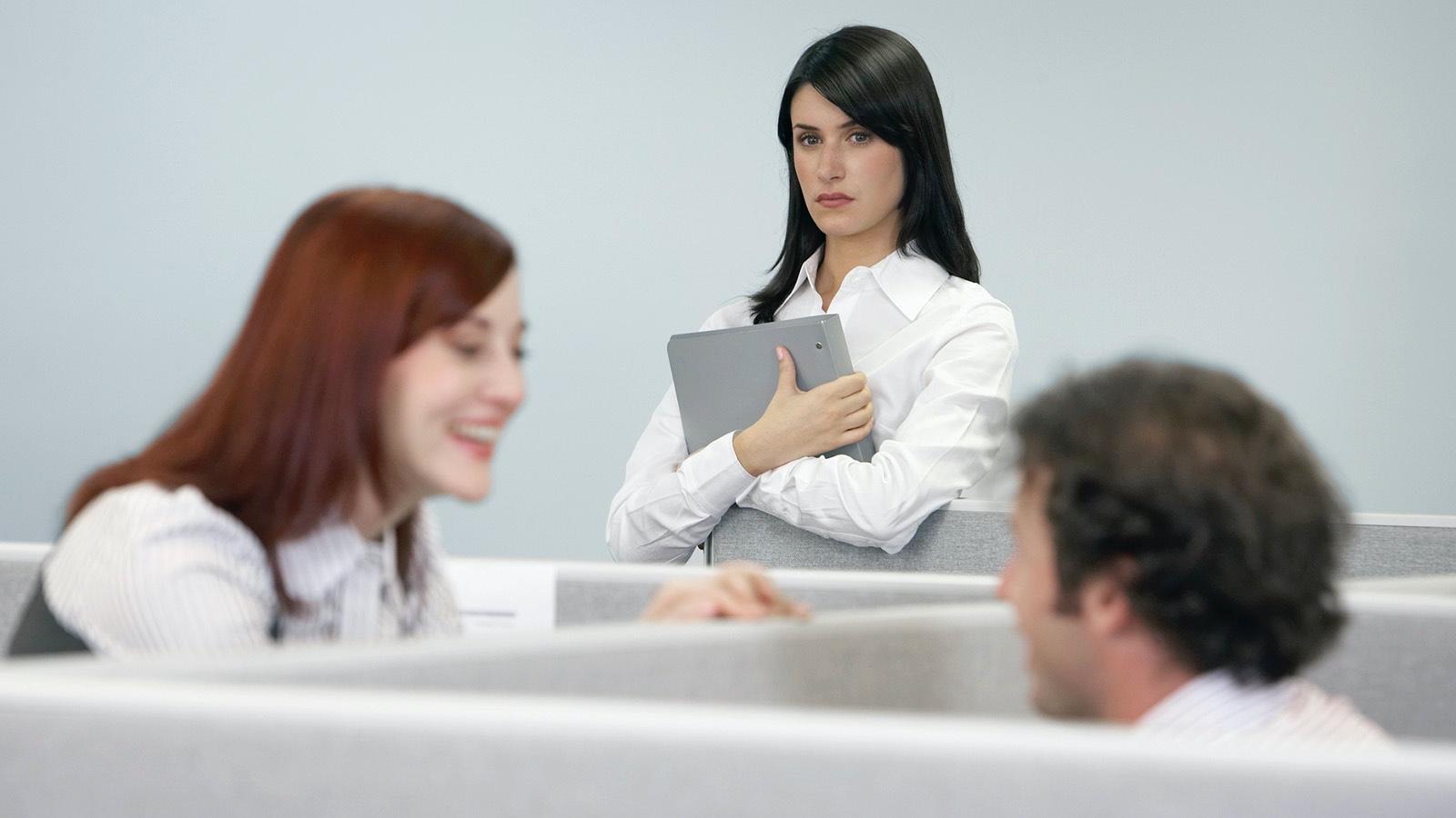 jealous coworker character flaw