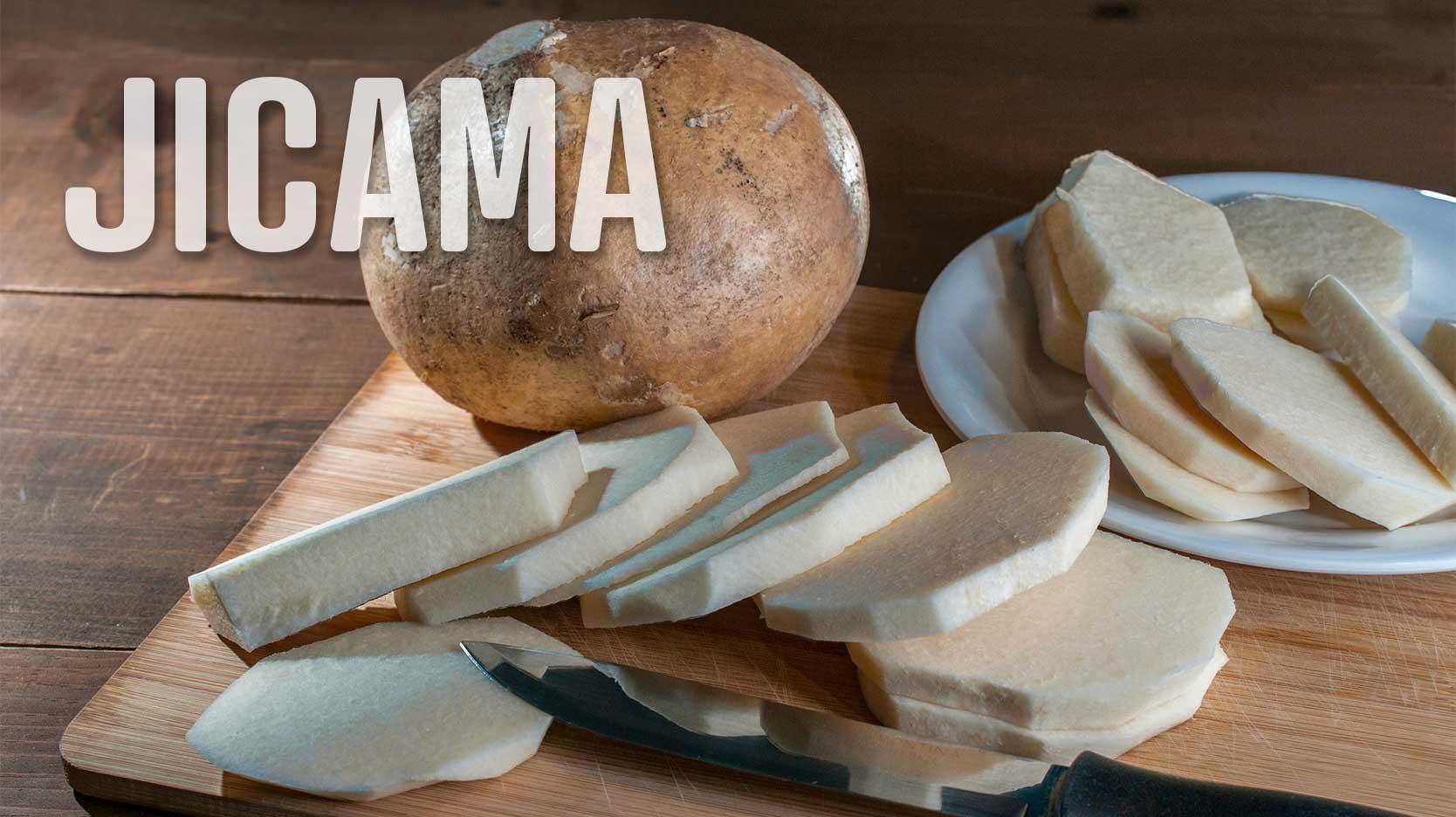 foods that start with j jicama
