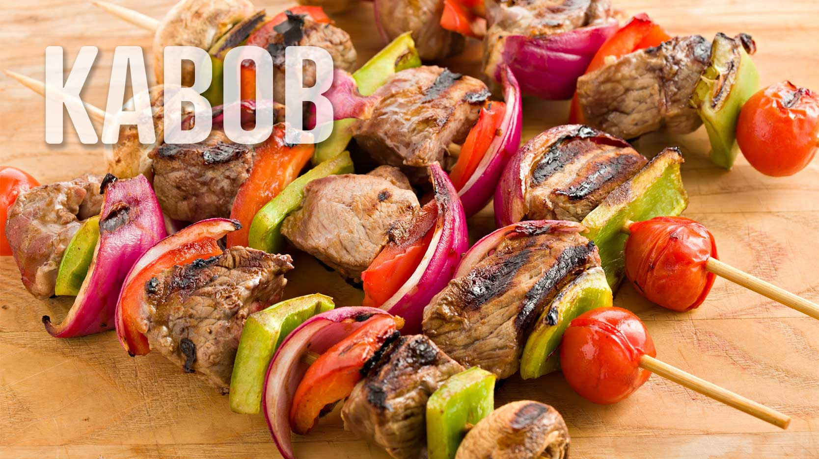foods that start with K kabob