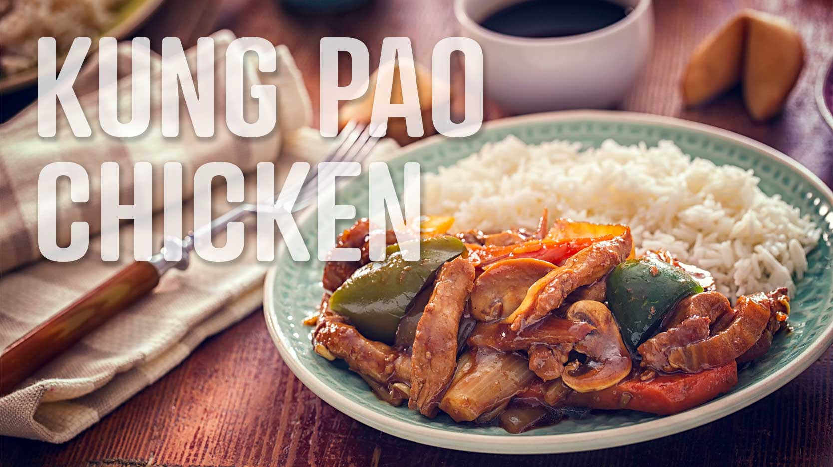 foods that start with K kung pao chicken