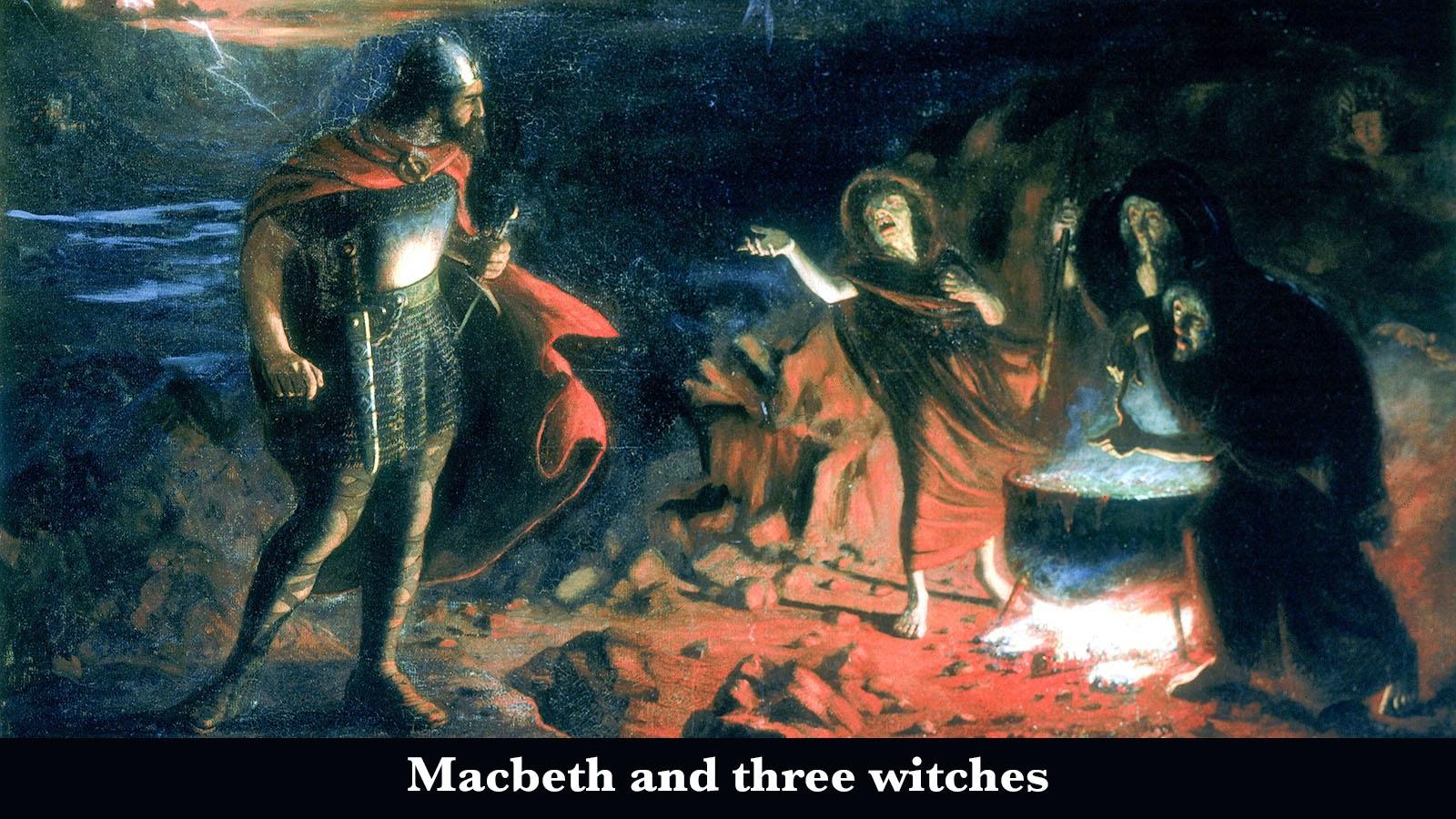 major theme of Macbeth three witches