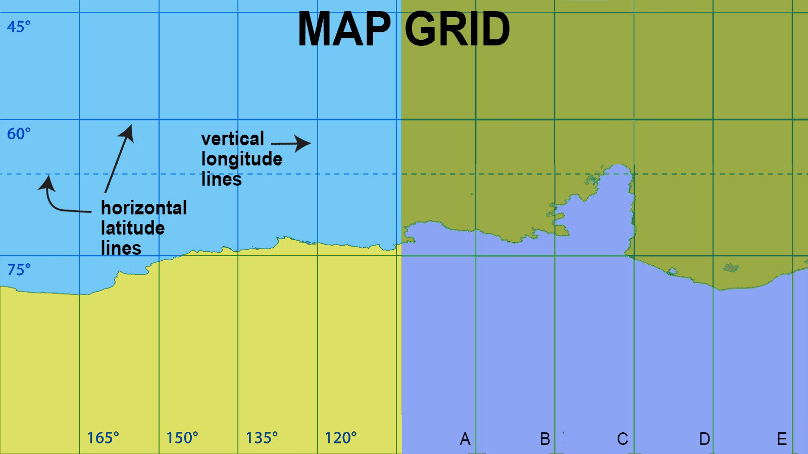 map latitude and longitude examples
