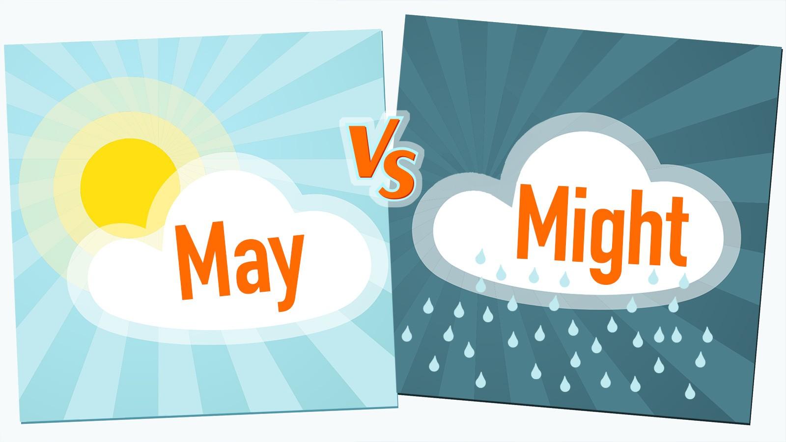 may vs might example