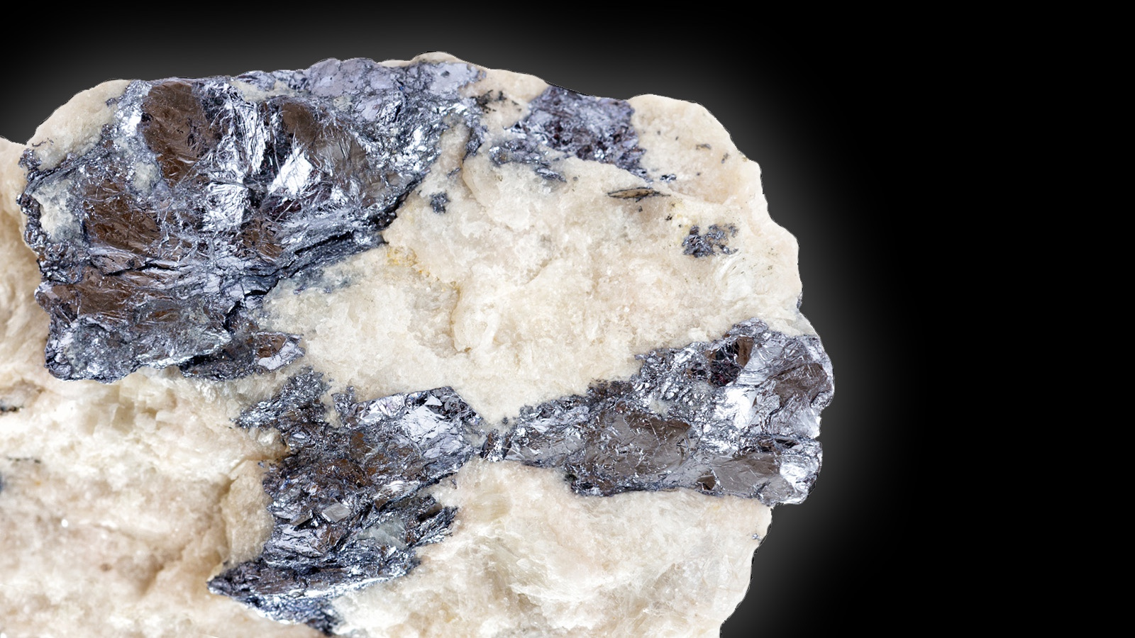 Molybdenite is ore of mineral resources Molybdenum