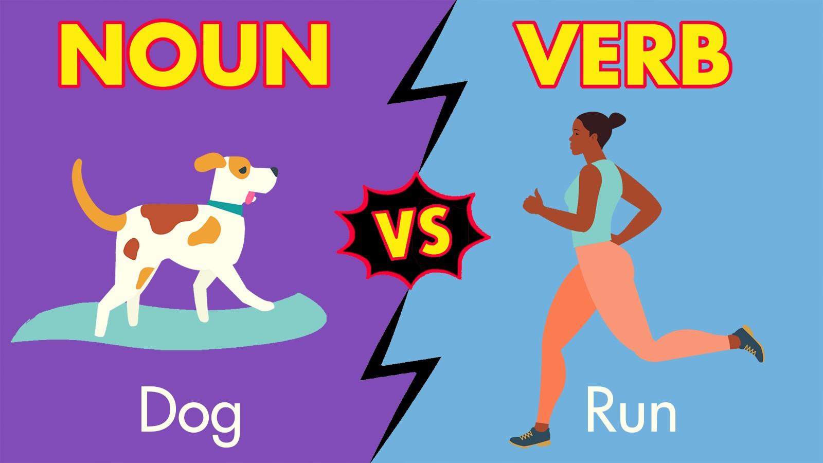 noun vs verb example