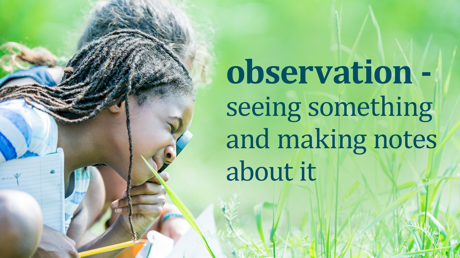 science term definition of observation