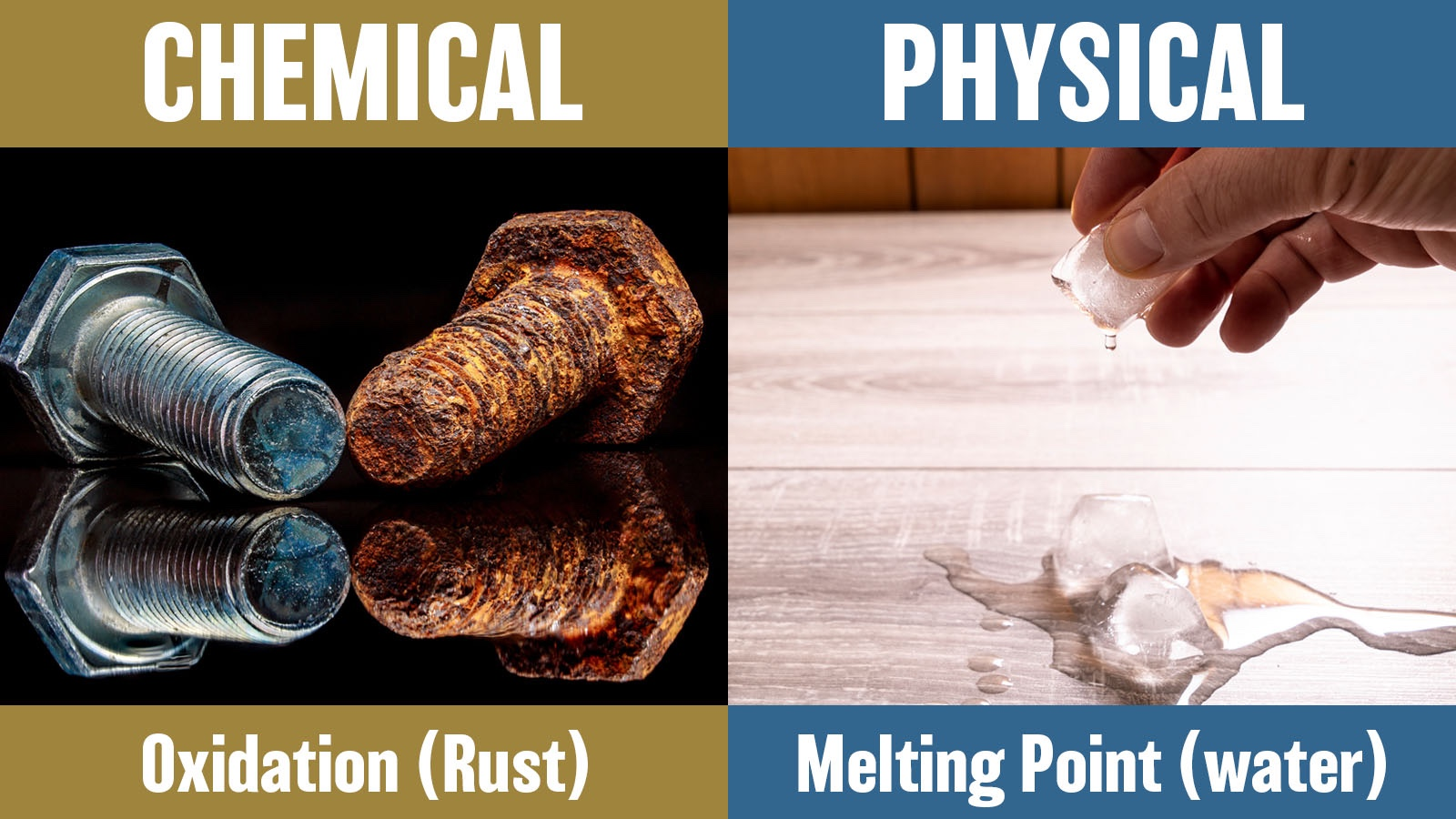 difference between chemical and physical properties