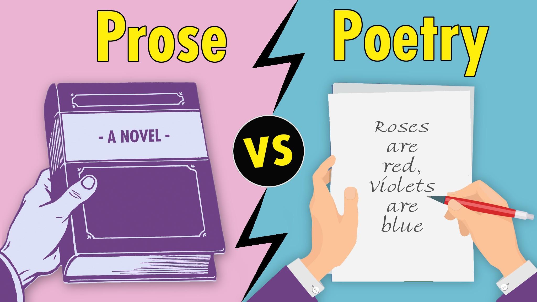 prose vs poetry