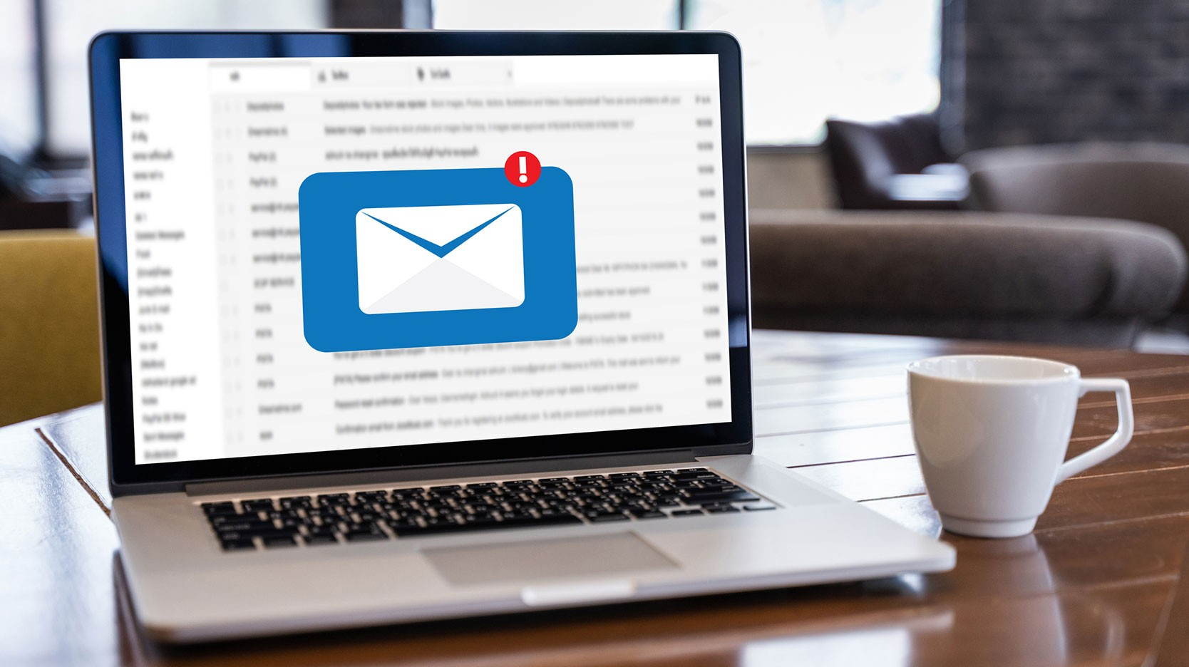 receiving email message notification on computer