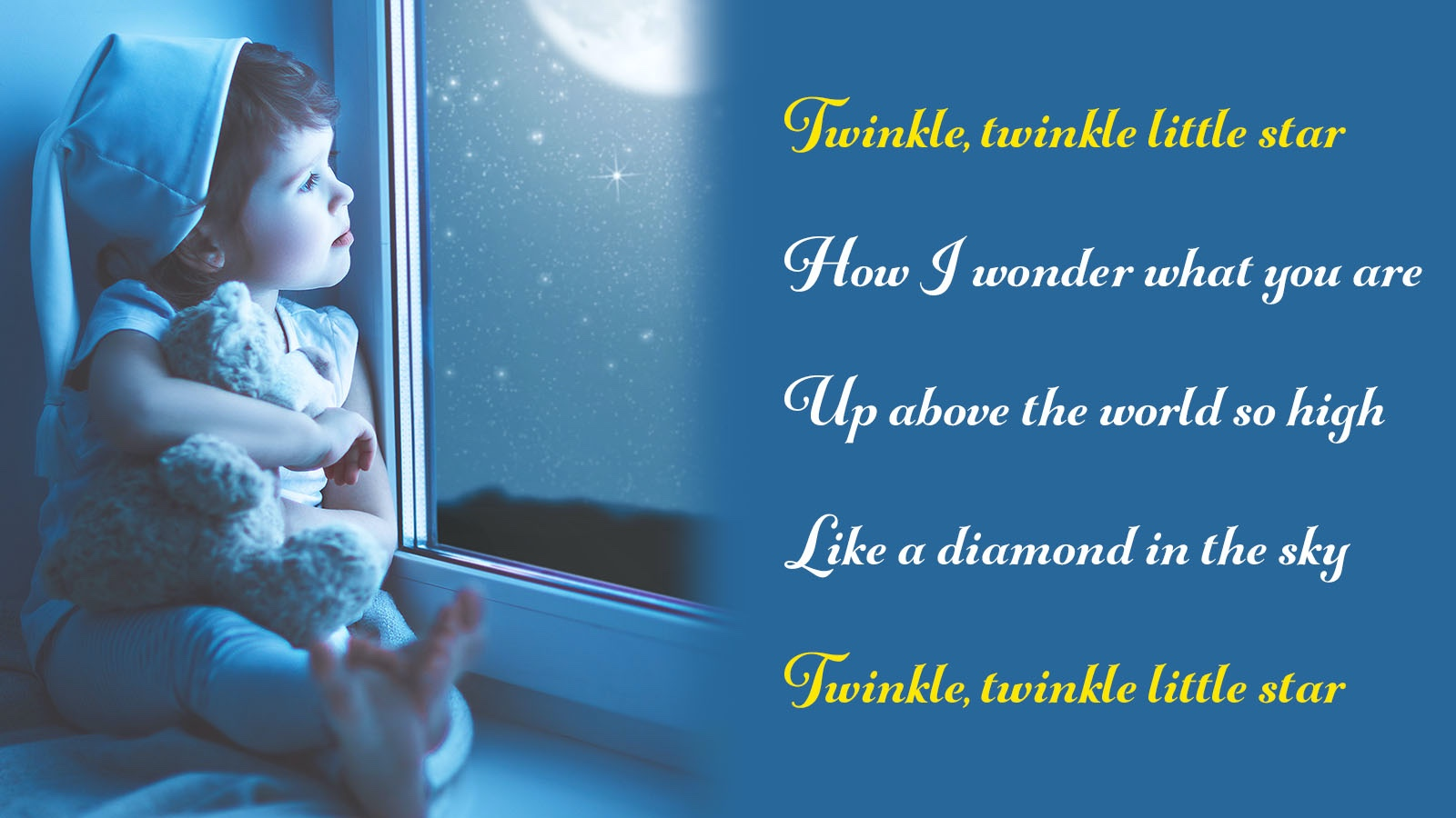 refrain example twinkle, twinkle little star