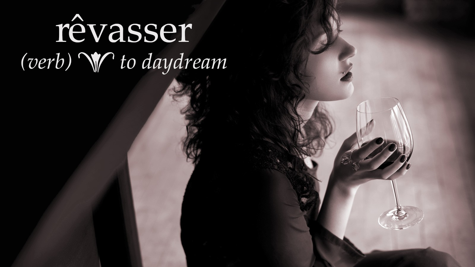 rêvasser means to daydream in french