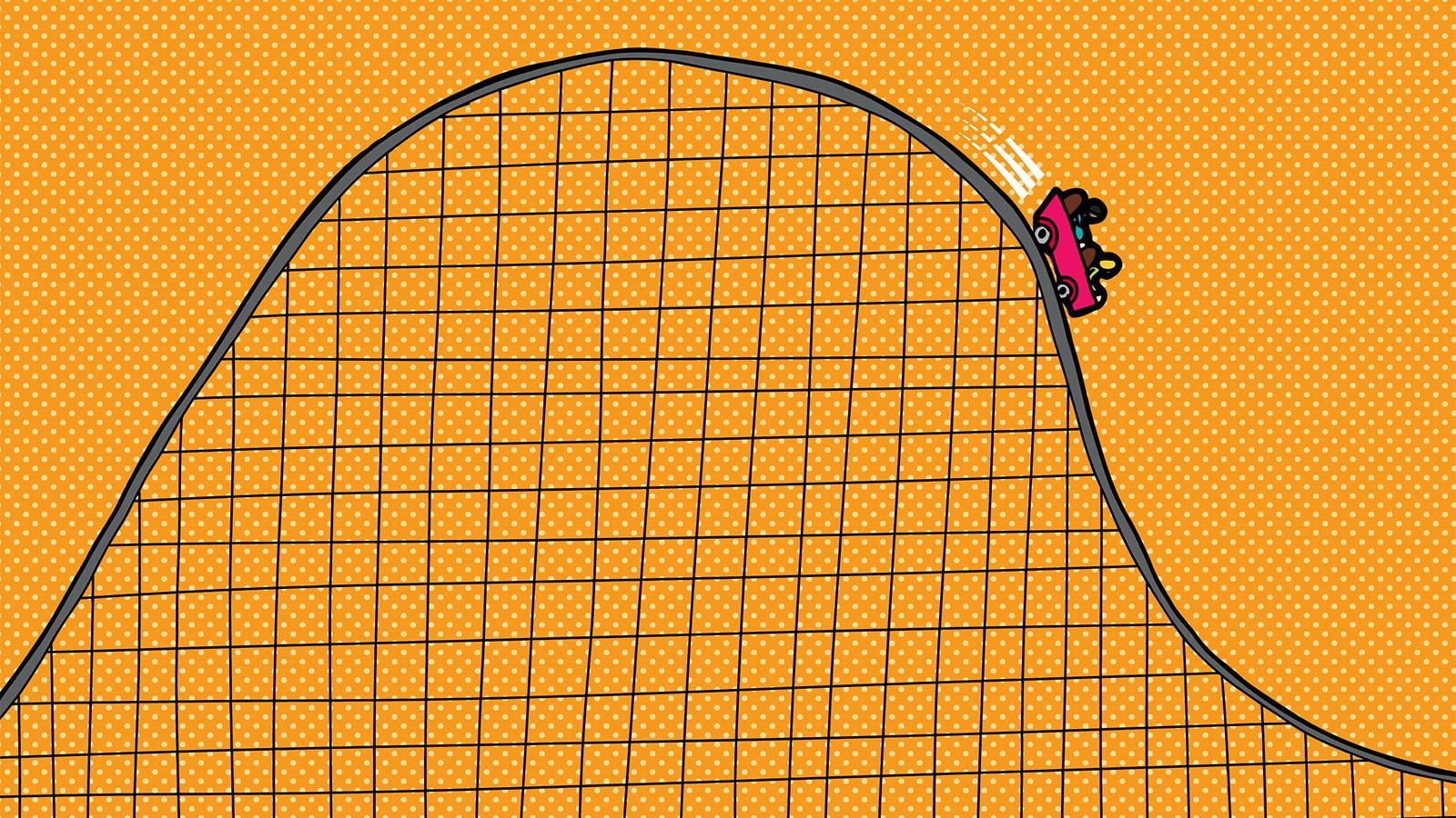 falling action metaphor roller coaster