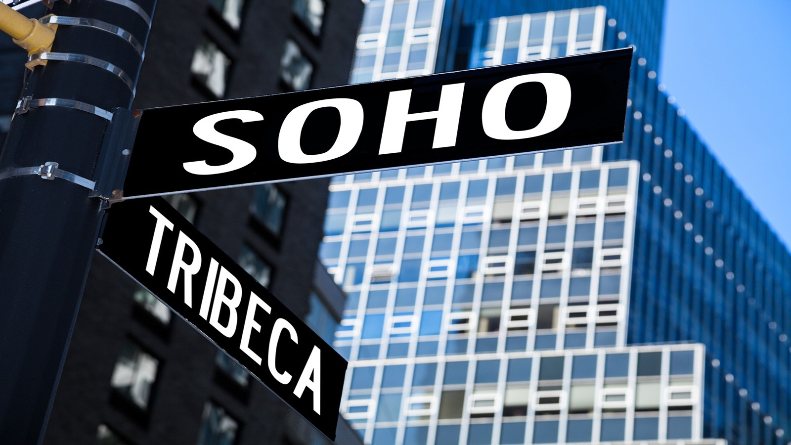 SoHo sign in New York