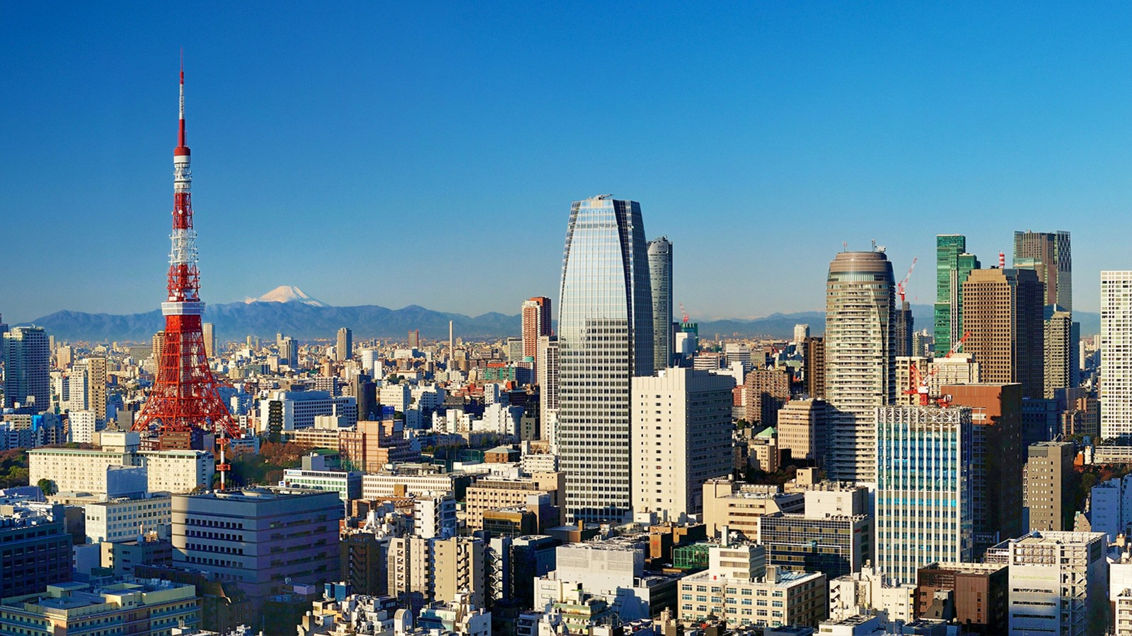 city view of Tokyo