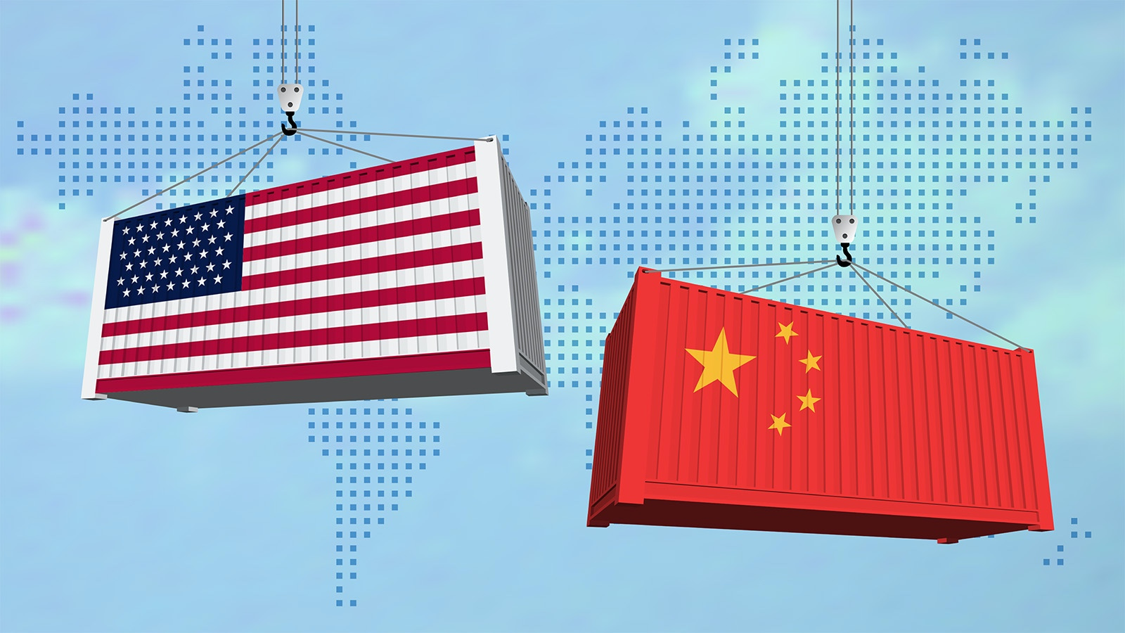 trade embargo example U.S. and China