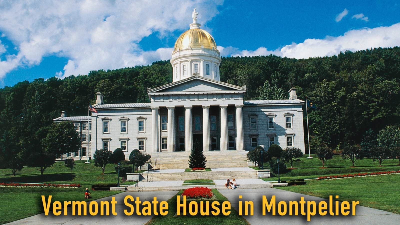 Vermont State House in Montpelier 2016