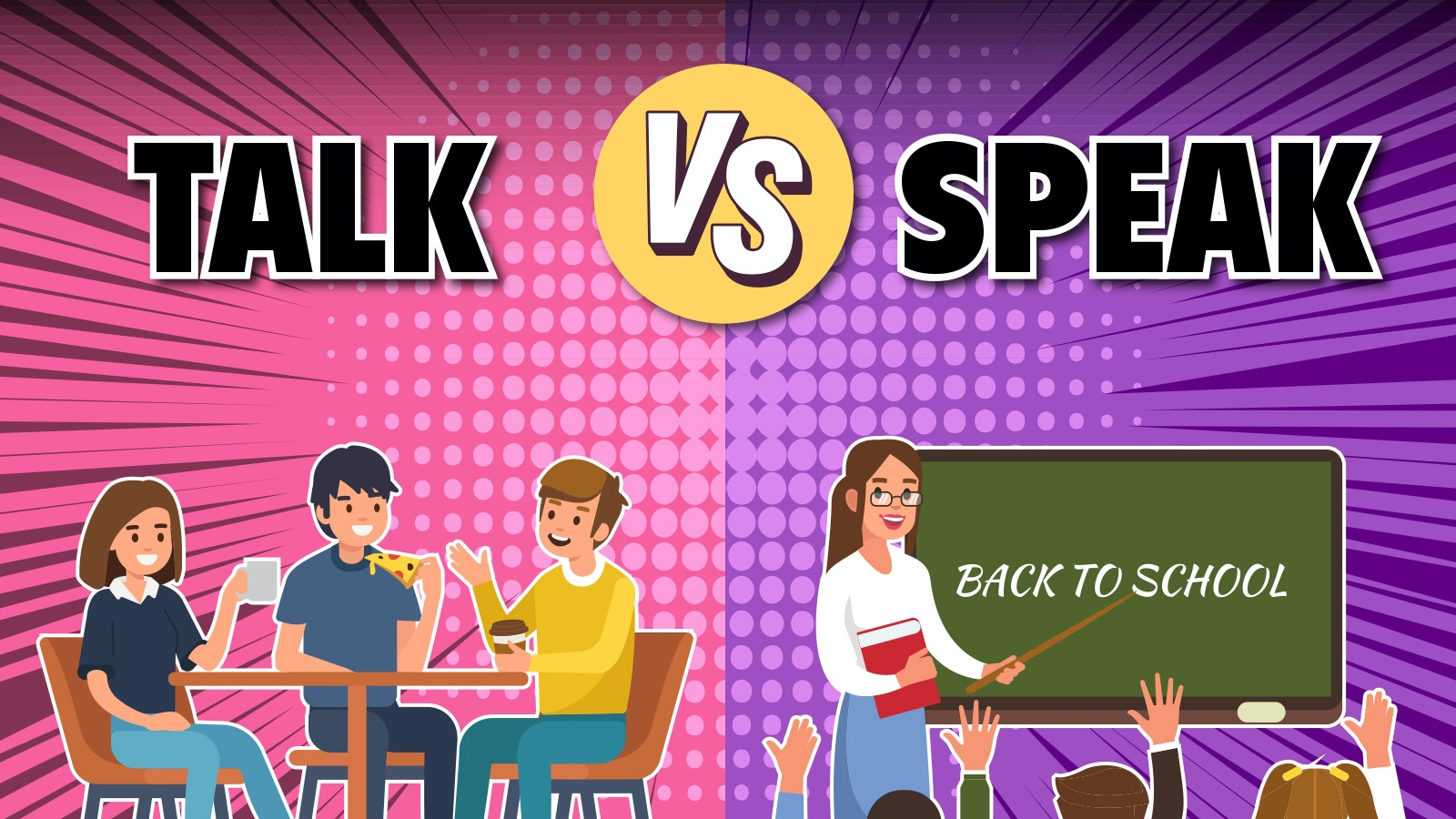 Talk vs Speak Example