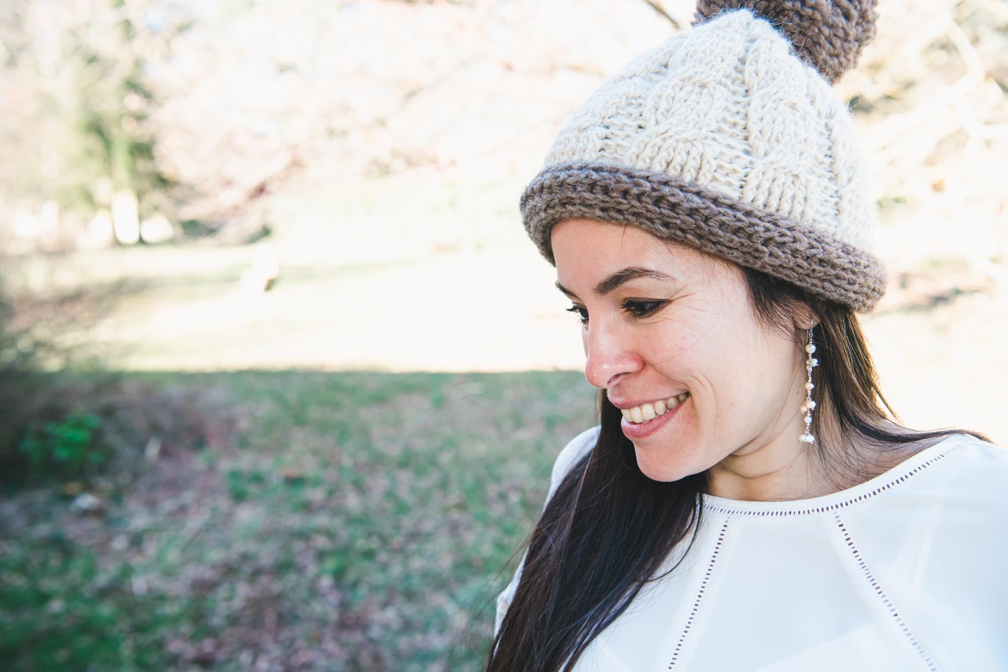 Boho Crochet Hat