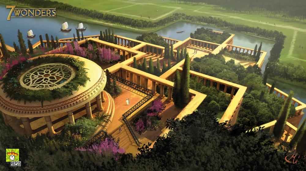 misteri dunia taman gantung babylonia