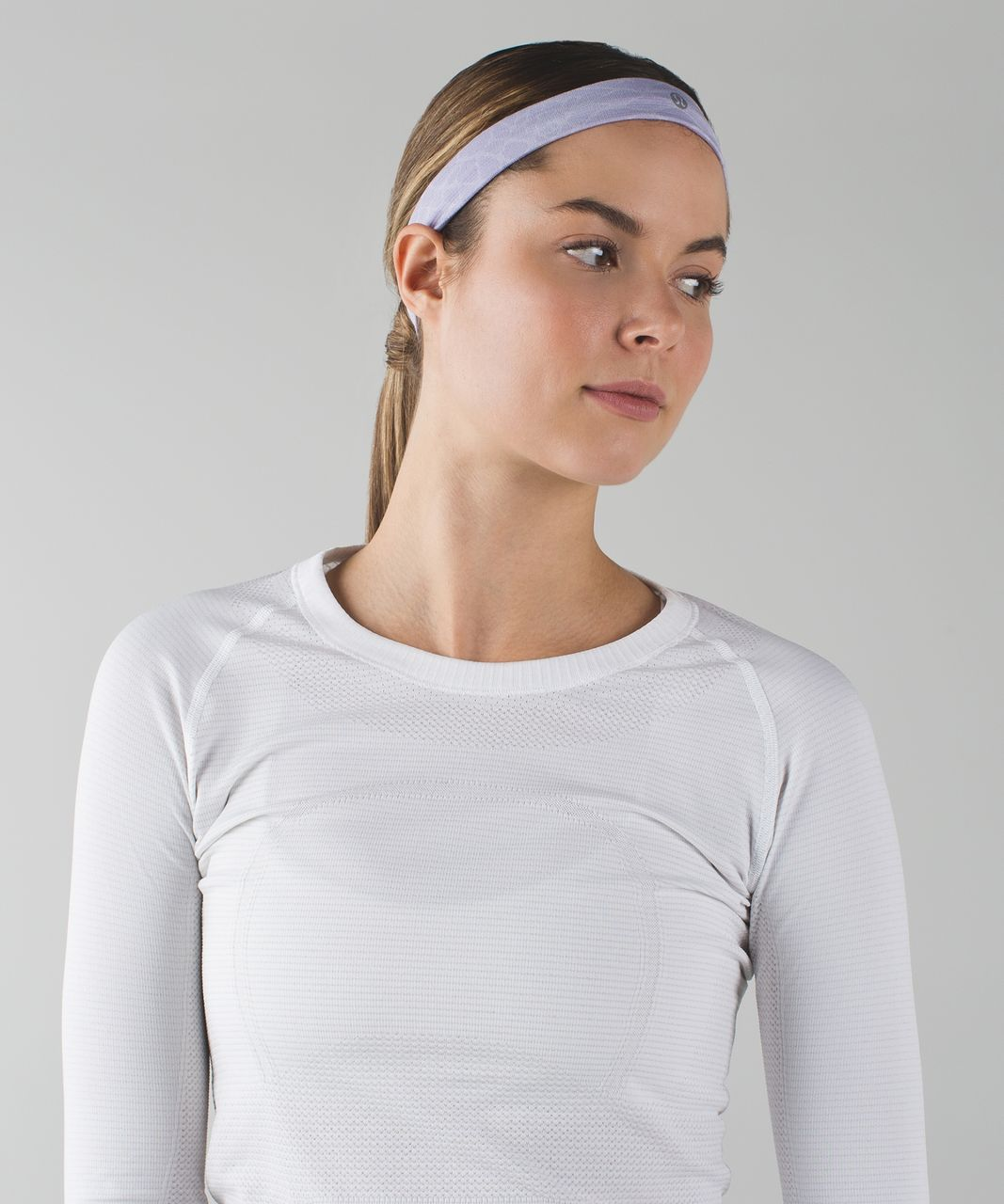 Lululemon Cardio Cross Trainer Headband - Heathered Lilac
