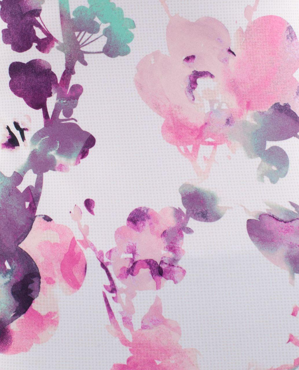 Lululemon Power Y Tank - Blurred Blossoms Multi Colour