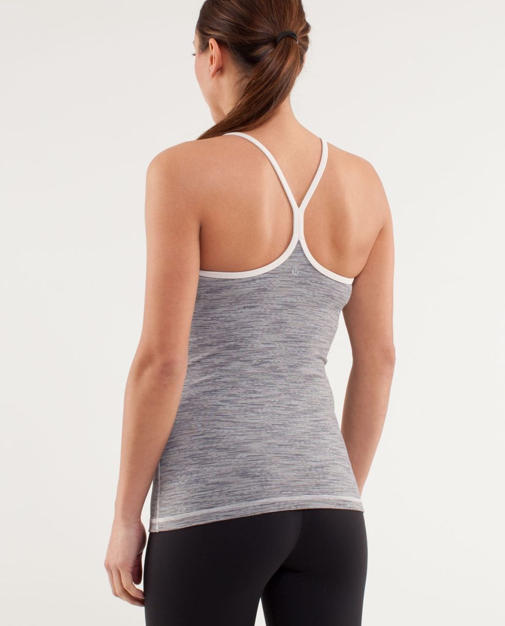Lululemon Power Y Tank - Wee Are From Space Coal Fossil /  Dune