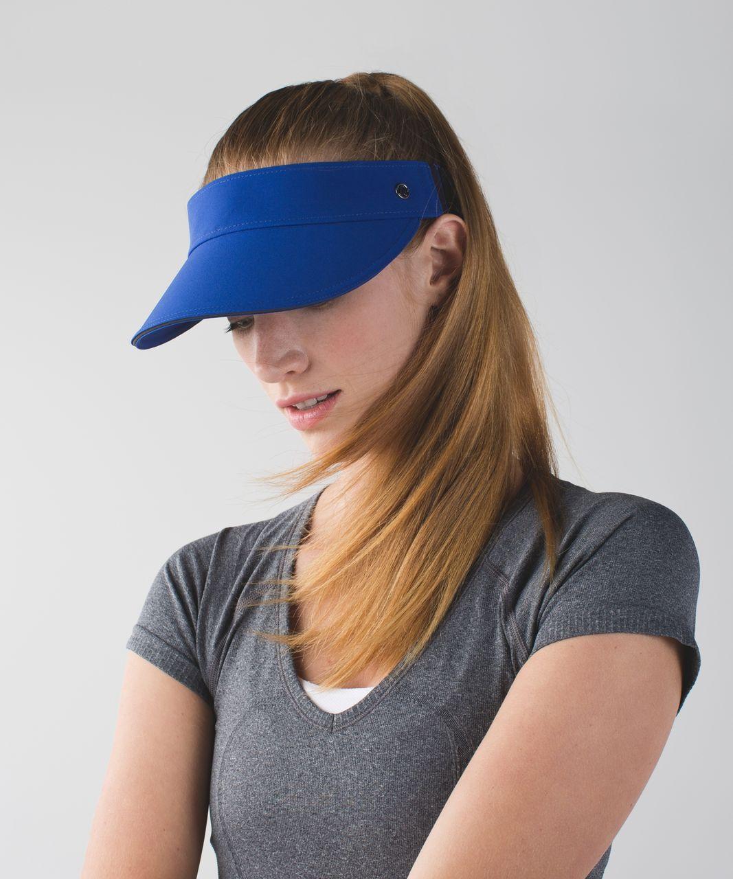 Lululemon Fast Paced Run Visor - Sapphire Blue